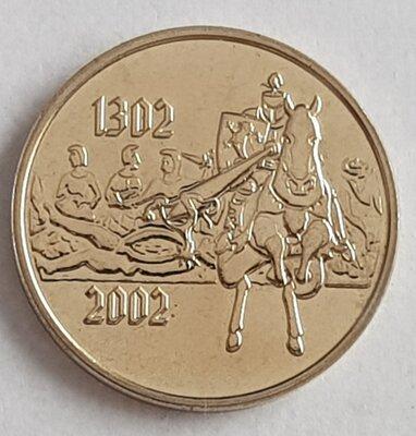 België 2002 penning uit BU set