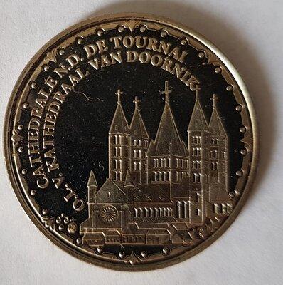 België 2009 penning uit BU set
