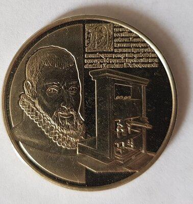 België 2012 penning uit BU set