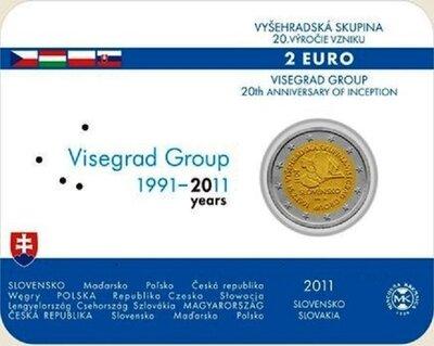 Slowakije 2 euro 2011