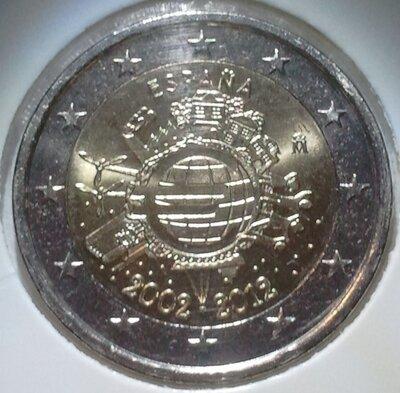 Spanje 2 euro 2012