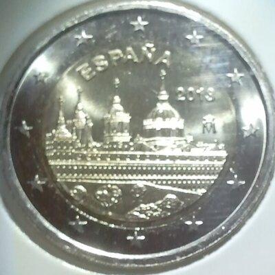 Spanje 2 euro 2013