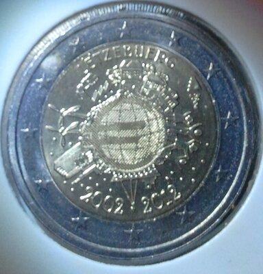 Luxemburg 2 Euro 2012