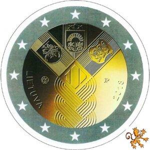 Litouwen 2 euro 2018