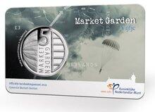 """Nederland 5 Euro 2019 """"Market Garden"""", UNC in coincard"""