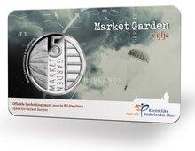 """Nederland 5 Euro 2019 """"Market Garden"""", BU in coincard"""