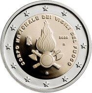 "Italië 2 Euro 2020 ""Brandweer"", UNC"