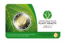 """België 2 Euro 2020 """"Plantgezondheid"""", in coincard Vlaams, na 20 maart"""