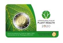 """België 2 Euro 2020 """"Plantgezondheid"""", in coincard Waals, na 20 maart"""