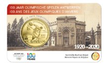 "België 2,5 Euro 2020 ""OS Antwerpen"", in coincard, medio april"