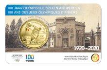 "België 2,5 Euro 2020 ""OS Antwerpen"", in coincard gekleurd, medio april"