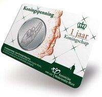 """Coincard Willem Alexander 2014 """"Koningspenning"""" BU"""