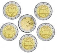 "Duitsland 2 Euro 2007 ""Verdrag van Rome"", 5 letters"