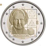 "Italië 2 Euro 2020 ""Montessori"", UNC"