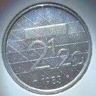 Beatrix 2½ Gulden 1983, FDC
