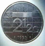 2½ Gulden 1993, UNC,