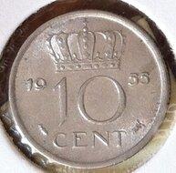 10 Cent 1955, UNC