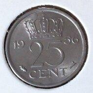 25 Cent 1956, UNC