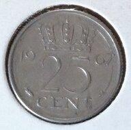 25 Cent 1967a, UNC