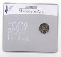 "Frankrijk 2 Euro 2008 ""EU Voorzitter"", Coincard"