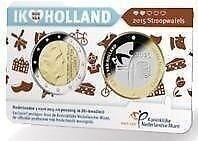 "Willem Alexander coincard 2015 ""Stroopwafel"""