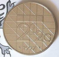 Beatrix 2½ Gulden 1997, FDC