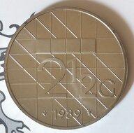Beatrix 2½ Gulden 1989, FDC