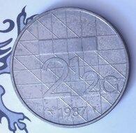Beatrix 2½ Gulden 1987, UNC