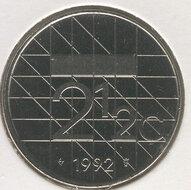 Beatrix 2½ Gulden 1992, FDC