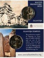 "Malta 2 Euro 2016 ""Ggantija Temples"", mmt Frans mmt, UNC, coincard"