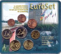Luxemburg BU Set 2002, 1e oplage KMS