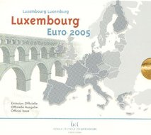 Luxemburg BU Set 2005