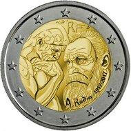 "Frankrijk 2 Euro 2017 ""Auguste Rodin"", UNC"