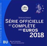 Frankrijk BU-set 2018
