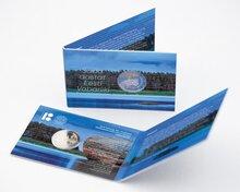 """Estland 2 Euro 2018 """"100 Jaar Estland"""" in coincard"""