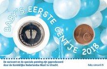 "Nederland Coincard 2018 ""Jongen"", in coincard"