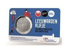 """Nederland Coincard 2018 """"Leeuwarden"""", UNC"""