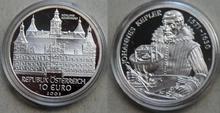 """Oostenrijk 10 euro 2002 """"Schloss Eggenberg"""", Proof in capsule"""