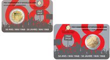 "België 2 Euro 2018 ""Studentenopstand"", BU in coincard Frans, begin juni"