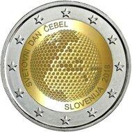 "Slovenië 2 euro 2018 ""Wereld Bijendag"", UNC"