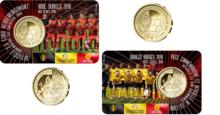 "België 2½ Euro 2018 ""WK Voetbal"", BU in coincard Nederlands"