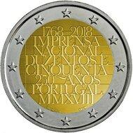 "Portugal 2 euro 2018 ""Nationale drukkerij"" UNC"