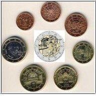 Oostenrijk UNC-set 2018 incl 2 euro 2018 (8 munten)