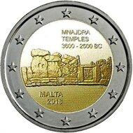 "Malta 2 Euro 2018 ""Mnajdra"", UNC"
