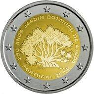 """Portugal 2 euro 2018 """"250-jarig bestaan van de Botanische Tuinen van Ajuda"""" UNC"""