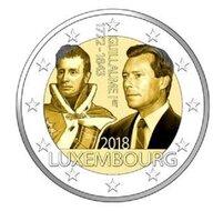 """VOORVERKOOP: Luxemburg 2 Euro 2018 """"Willem I"""", UNC levering eind november"""