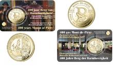 "België 2 X 2,50 Euro 2018 ""Berg der Barmhartigheid"", BU in coincard Nederlands/Frans"