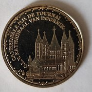 "België 2009 penning uit BU set ""Kathedraal van Doornik"", BU"