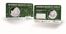 "Nederland Coincard 2018 ""Universiteit Wageningen"", BU (levering November)"