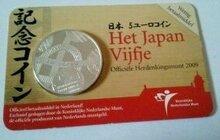 "Nederland 5 Euro 2009 Coincard UNC ""Japanvijfje"""
